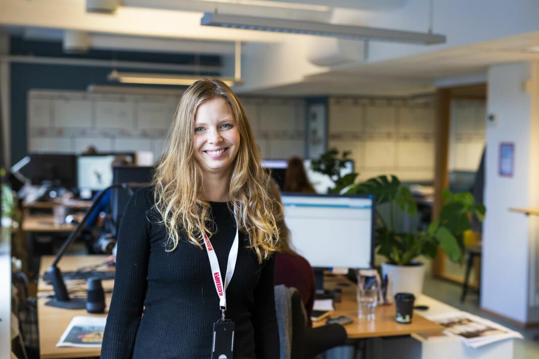 Maria Dyrhol Sandvik blir politisk journalist i Klassekampen. Foto: Kristine Lindebø
