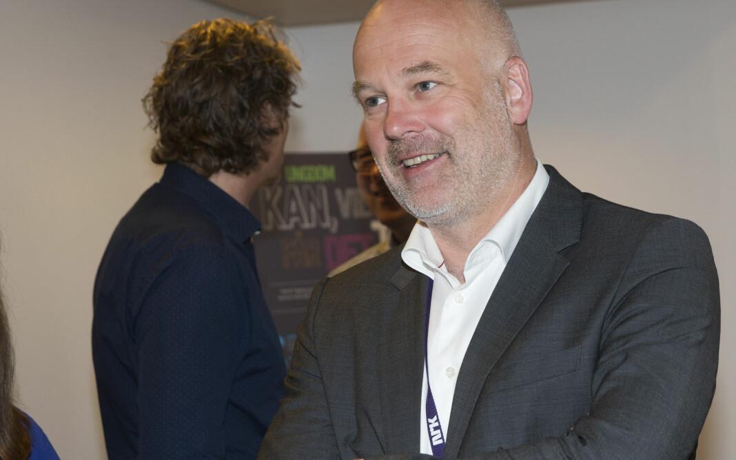 Kringkastingssjef Thor Gjermund Eriksen sier det er utenkelig at en debattleder i NRK skulle tatt avstand fra en uttalelse gitt av en partileder under en debatt. Foto: Terje Bendiksby / NTB scanpix