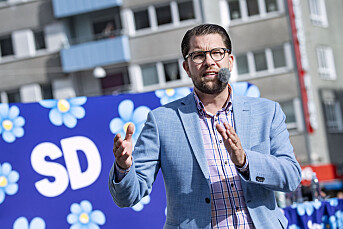 Sverigedemokraterna sier partiet vil boikotte SVTs valgsendinger