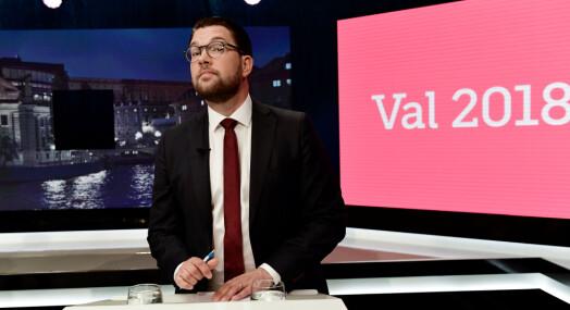 SVT bytter valgredaktør etter SD-kontrovers