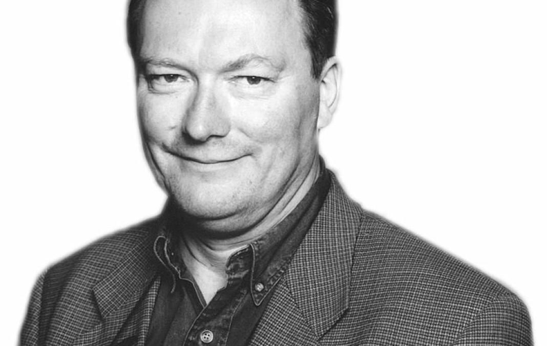 Trond Berg Eriksen har vært Morgenbladets spaltist Etikeren i åtte år. Foto: Forfatterportrett, Aschehoug
