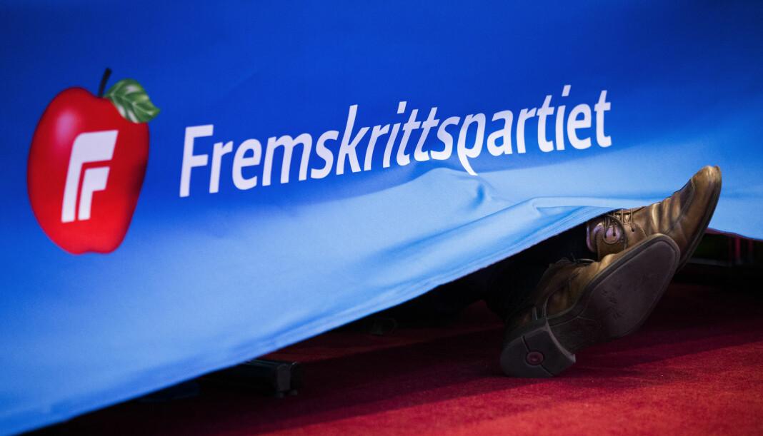 Den tidligere nestformannen i Fremskrittspartiets Ungdom (FpU), Kristian August Eilertsen, skal ha klaget inn iTromsø, Harstad Tidende, VG og Dagsavisen. Foto: Berit Roald / NTB scanpix