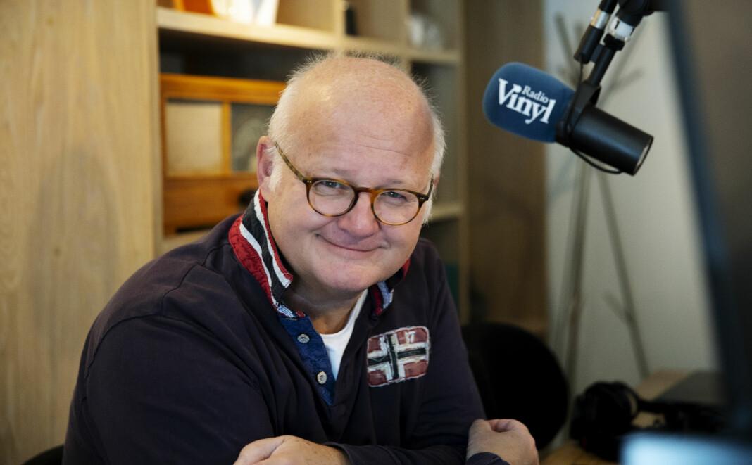 Finn Bjelkes nye show på Radio Vinyl møter motstand hos gammel arbeidsgiver. Foto: Bauer Media