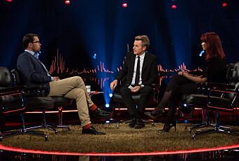 LES OGSÅ:Jimmie Åkesson er første gjest når Skavlan debuterer på TV 2