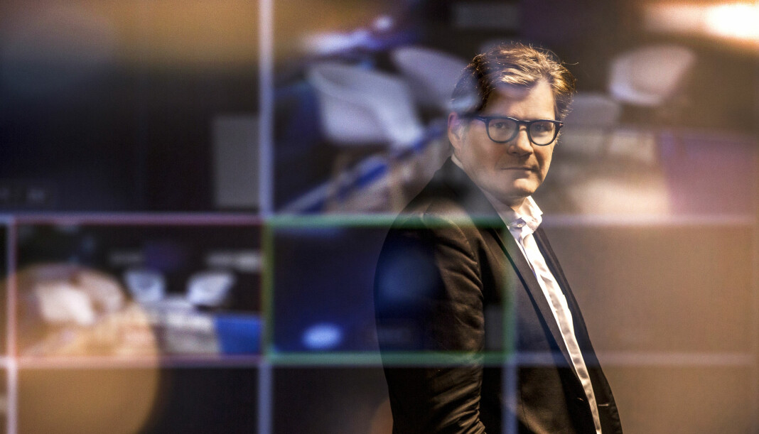 Sveriges Television valgte å ta avstand fra en uttalelse Sverigedemokratarnas leder Jimmie Åkesson kom med under partilederdebatten fredag. Det skal ikke lenger kanalen gjøre, skriver programdirektør Jan Helin. Foto: SVT