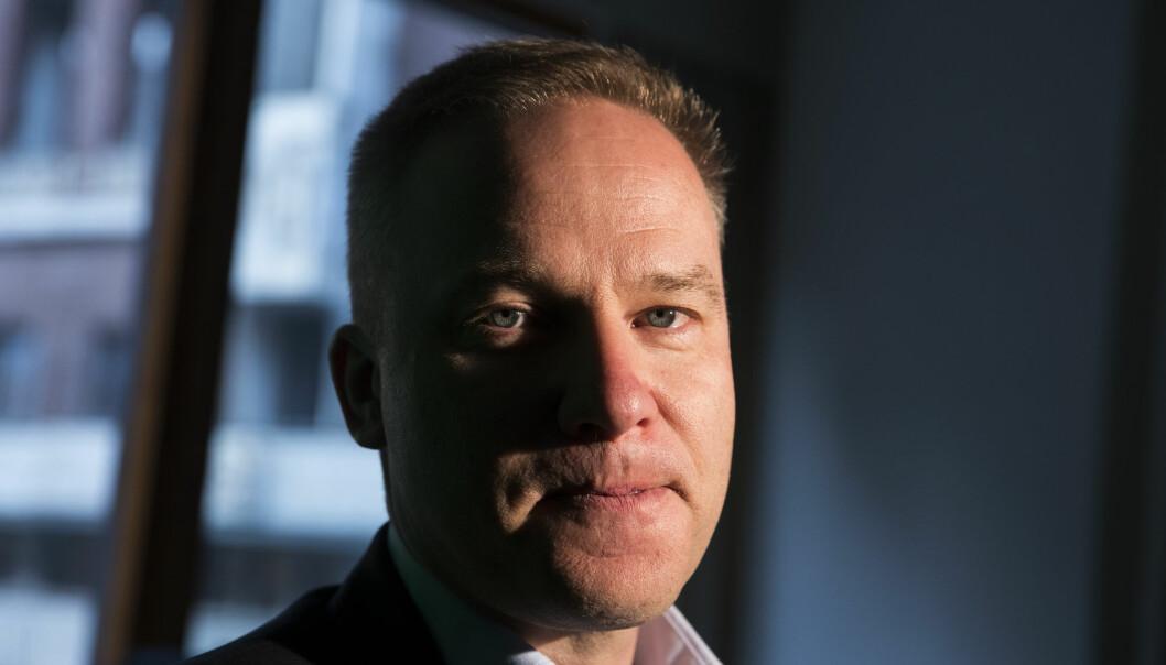 Helge Lurås, redaktør i det omdiskuterte nettstedet Resett, har fått avslag på søknaden om medlemskap i Redaktørforeningen. Foto: Håkon Mosvold Larsen / NTB scanpix