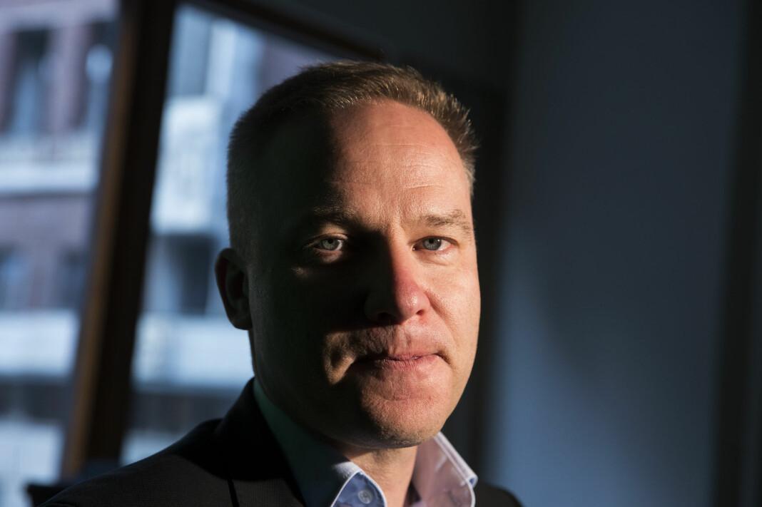Helge Lurås, redaktør i det omdiskuterte nettstedet Resett, har søkt om medlemskap i Redaktørforeningen. Foto: Håkon Mosvold Larsen / NTB scanpix