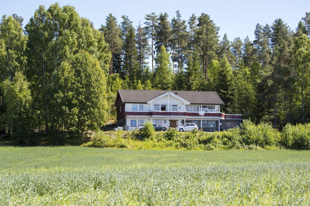 Kårboligen på Orderud gård på Sørumsand, hvor drapene skjedde i 1999. Foto: Cornelius Poppe / NTB scanpix