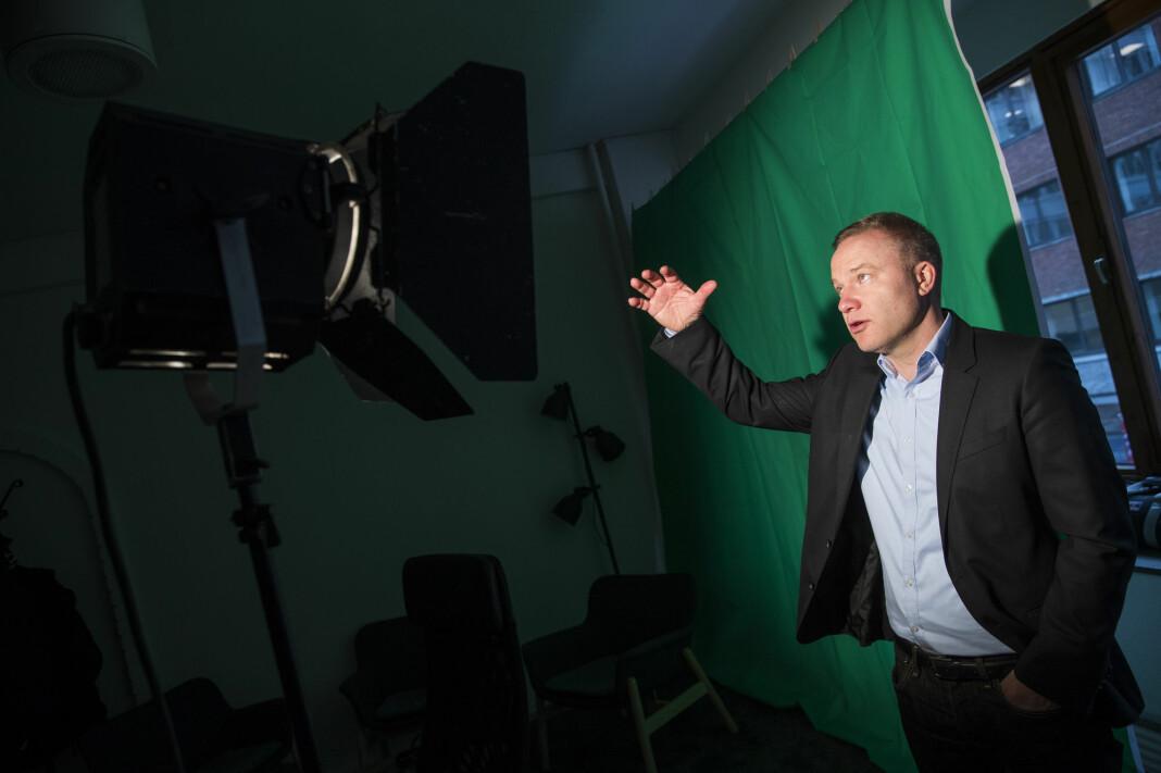 Helge Lurås, redaktør for det omdiskuterte nettstedet Resett, ønsker å være med i Norsk Redaktørforening. Foto: Håkon Mosvold Larsen / NTB scanpix