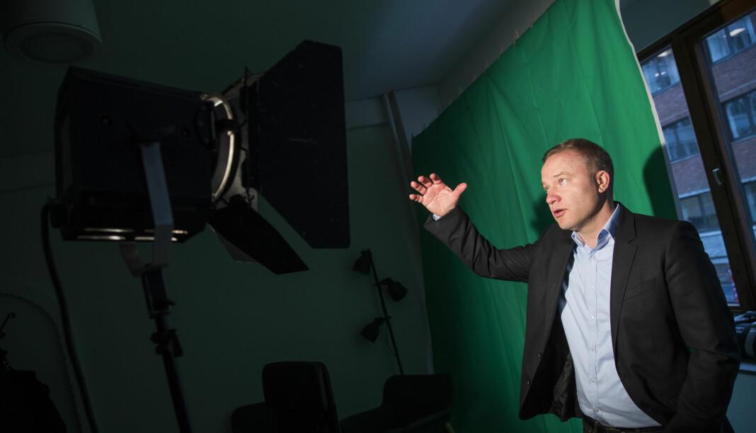 Resett-redaktør Helge Lurås får mye oppmerksomhet i andre medier. Foto: Håkon Mosvold Larsen / NTB scanpix