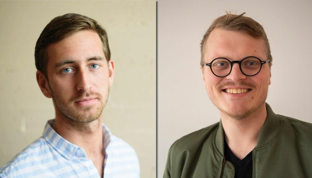 Ole Alexander Saue og Ole Gunnar Onsøien er begge ansatt som journalister Medier24. Foto: Henrik Mundal Andreassen/Bladet Sunnhordland og Erik Waatland/Medier24