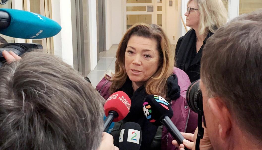 Kristin Skogen Lund får fra NHO til Schibsted. Foto: Terje Solsvik/Reuters