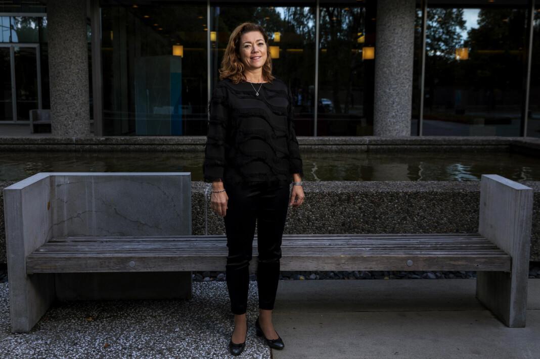Kristin Skogen Lund blir ny konsernsjef for Schibsted fra 1. desember. Foto: Tore Meek / NTB Scanpix