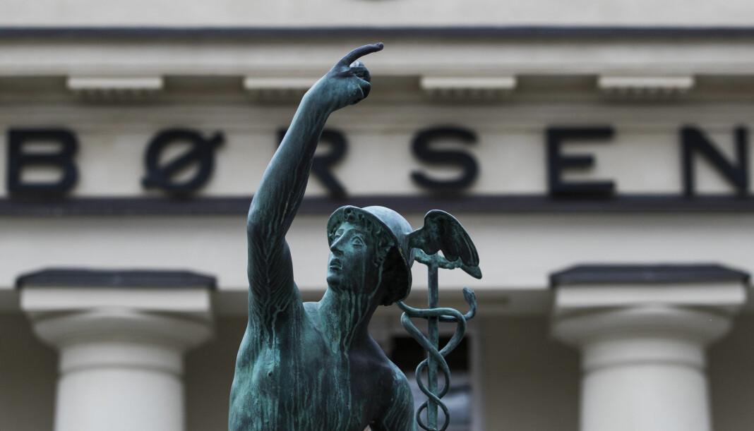 Det var stor interesse for Schibsted-aksjene på Oslo Børs i dag. Illustrasjonsfoto: Håkon Mosvold Larsen / NTB scanpix