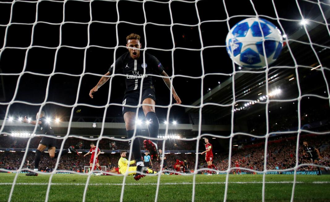 Liverpools seier mot PSG ble sett av over 100.000 brukere på TV 2 Sumo. Foto: Phil Noble / Reuters / NTB scanpix