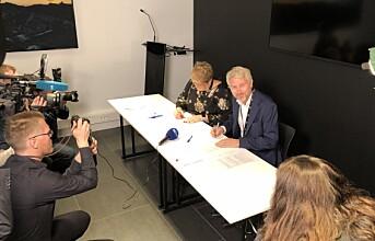 Grande og Sandnes signerte ny TV 2-avtale