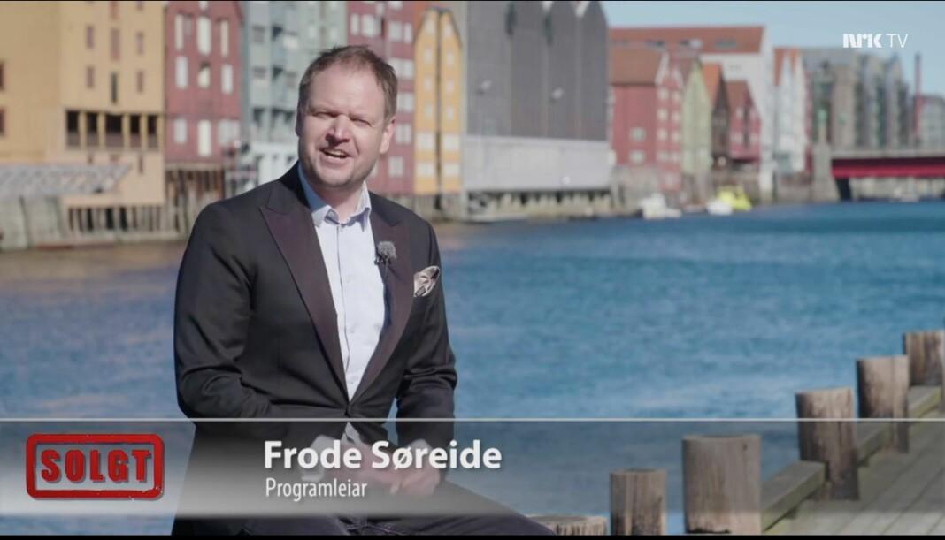 NRK mener «Solgt» strømmes for lite i nettjenesten NRK TV. Skjermdump fra NRK TV
