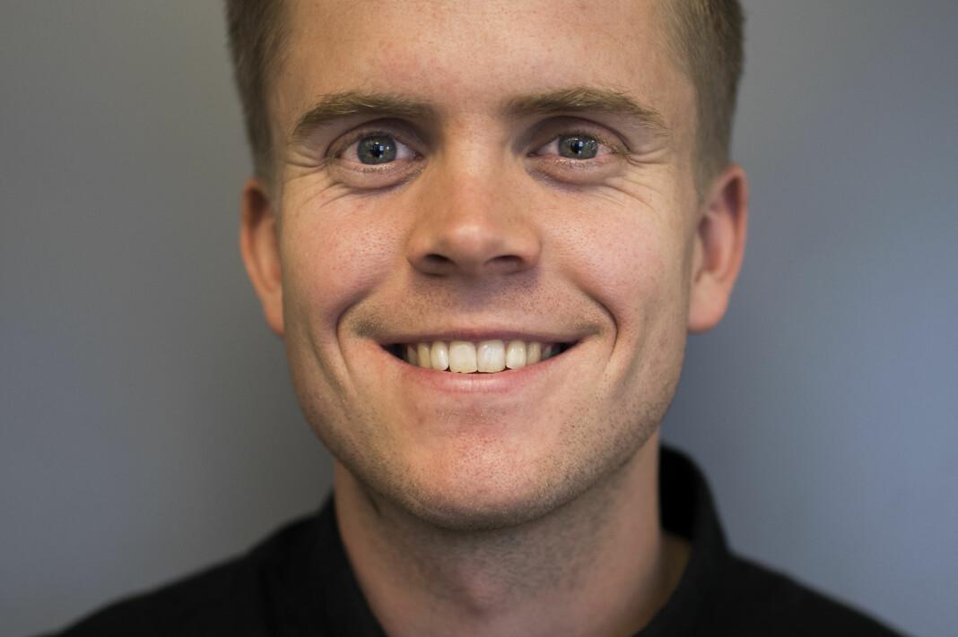 Torkjell Trædal er fast journalist i Khrono. Foto: Innsendt