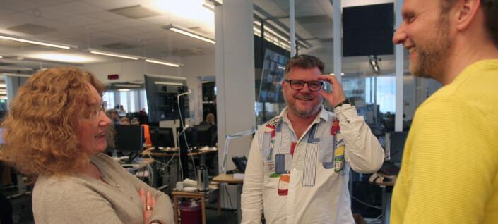 Richard Aune gir seg som NRKJ-leder mens han mener dialogen med NRK-ledelsen er på sitt beste