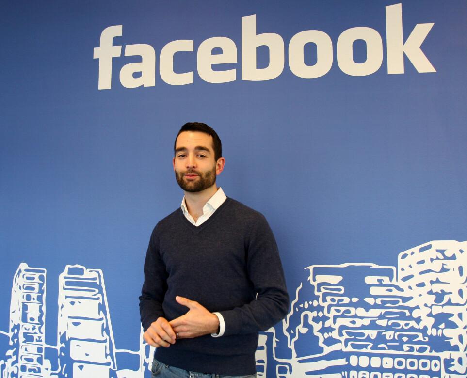 John Severinson i Facebook var den som etablerte kontakt med Faktisk.no i fjor sommer. Foto: Glenn Slydal Johansen