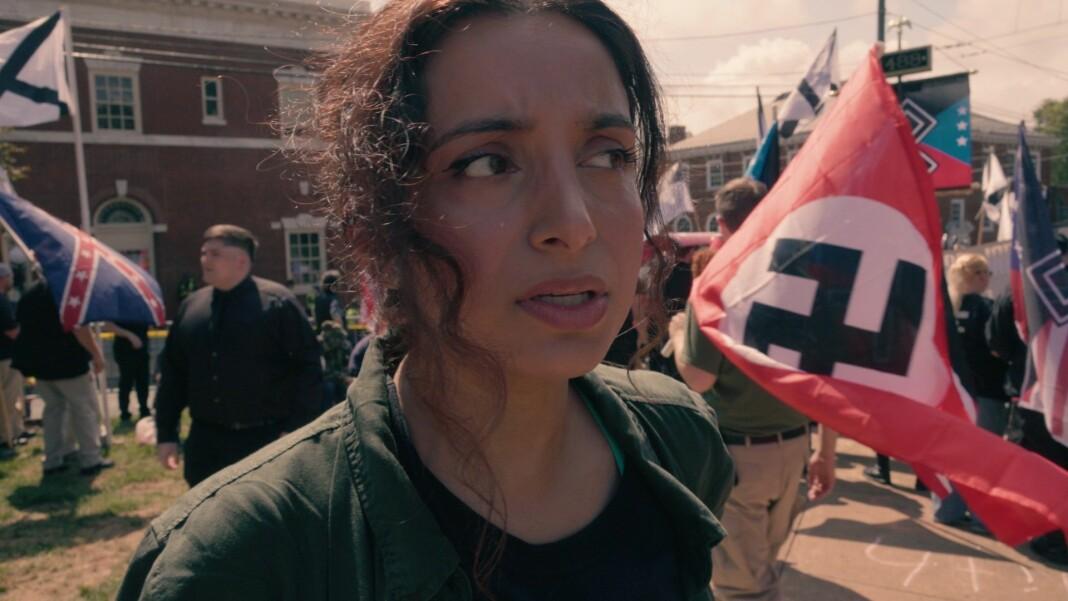 Deeyah Khan, her fra dokumentarfilmen «White Right: Meeting The Enemy».