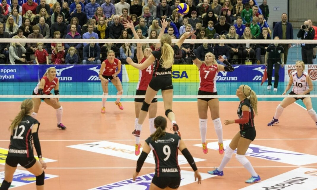 Amedia skal nå også strømme minst 132 volleyballkamper. Foto: Amedia