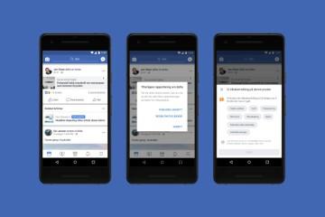 96d67194 Slik vil faktasjekkverktøyet som Facebook nå lanserer i Norge se ut for  brukerne. Skjermbilde: