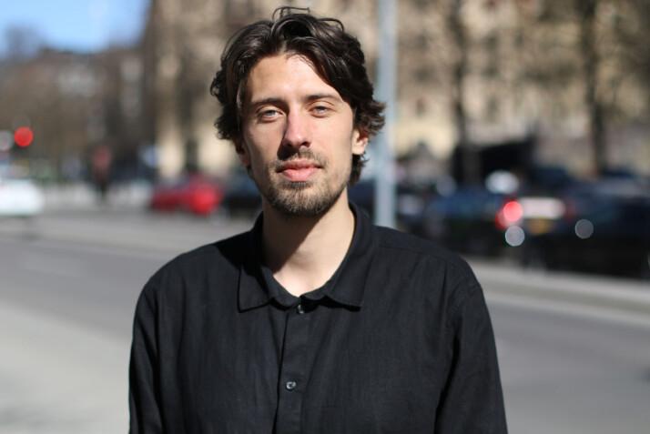 Ansvarlig redaktør Johan Wikén i svenske Viralgranskaren. Foto: Simon Krona
