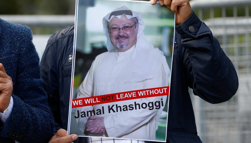Journalisten Jamal Khashoggi ble drept under et besøk på Saudi-Arabias konsulat i Istanbul i oktober. Foto: Reuters / NTB scanpix