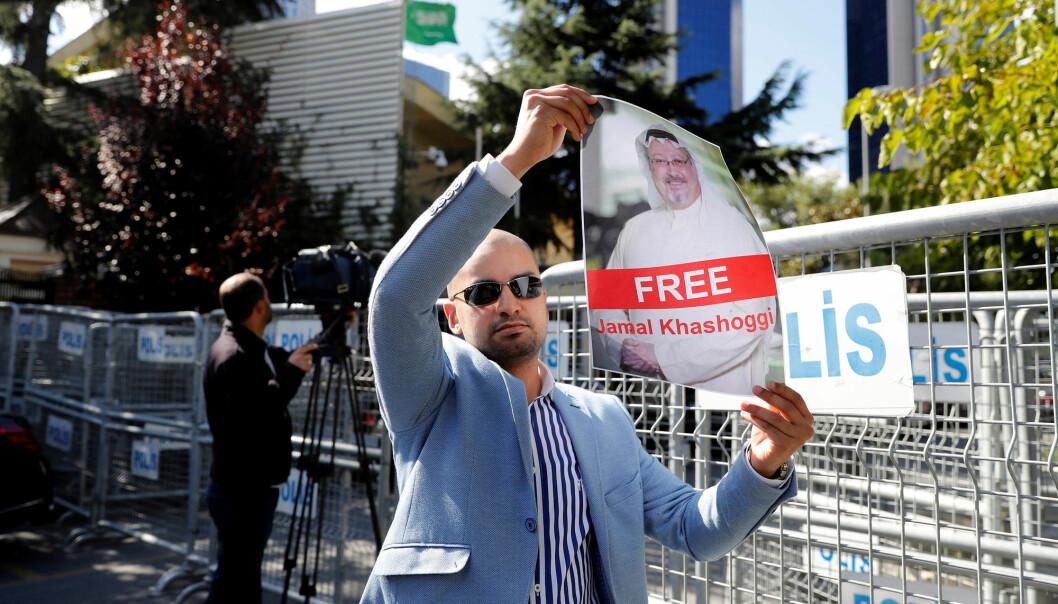 Tyrkia har konkludert med at den saudiarabiske journalisten Jamal Khashoggi ble drept på hjemlandets konsulat i Istanbul, skriver Washington Post. Foto: Reuters / NTB scanpix