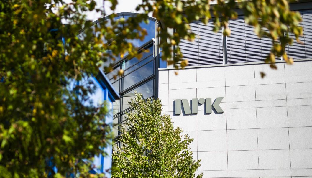NRK kommer på førsteplass i merkevarekåring foran Zalo og Norwegia. Her er NRKs hovedkontor på Marienlyst i Oslo.