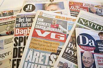 Mediebransjens organisasjoner er skuffet over at pressestøtten ikke økes for 2019