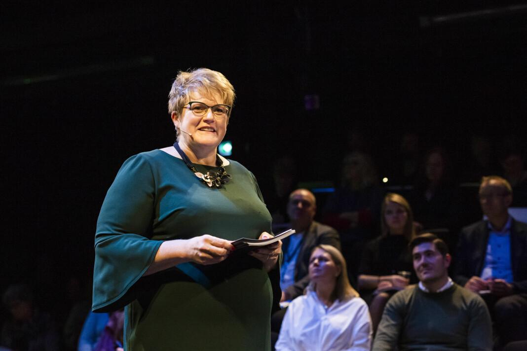 – Tillit er ferskvare, skriver ulturminister Trine Skei Grande i dette debattinnlegget på pressefrihetens dag. Foto: Kristine Lindebø