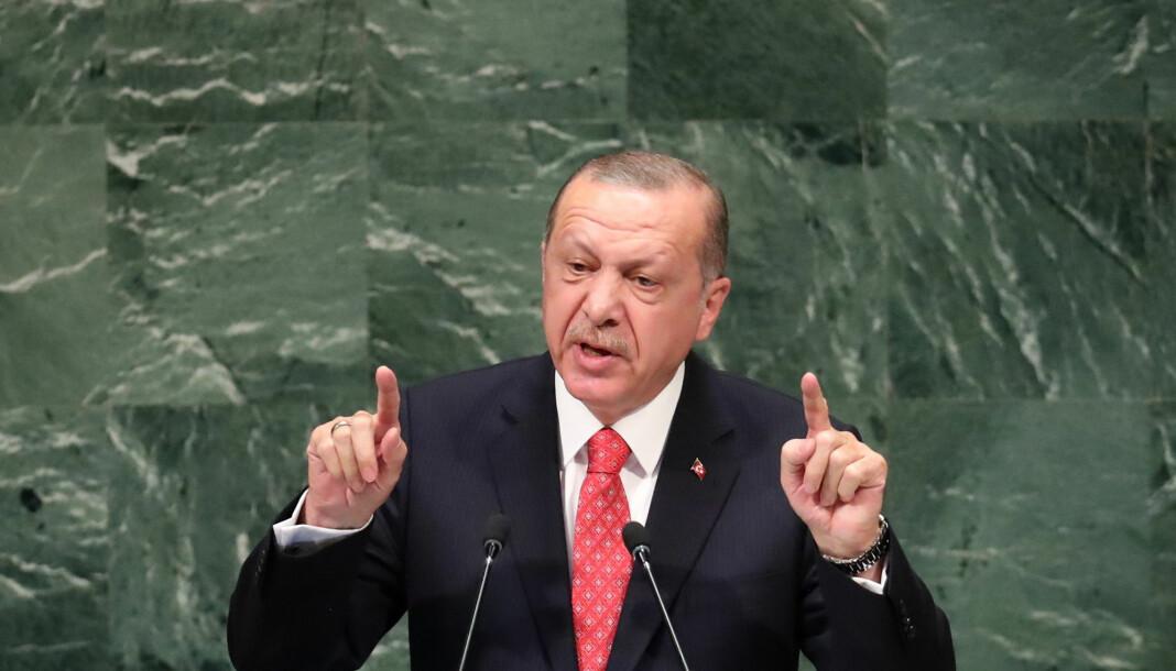 Tyrkias president Recep Tayyip Erdogan vil ha en avklaring på hva som har skjedd med saudiaraberen Jamal Khashoggi, som han har kalt «en venn». Foto: Reuters / NTB scanpix