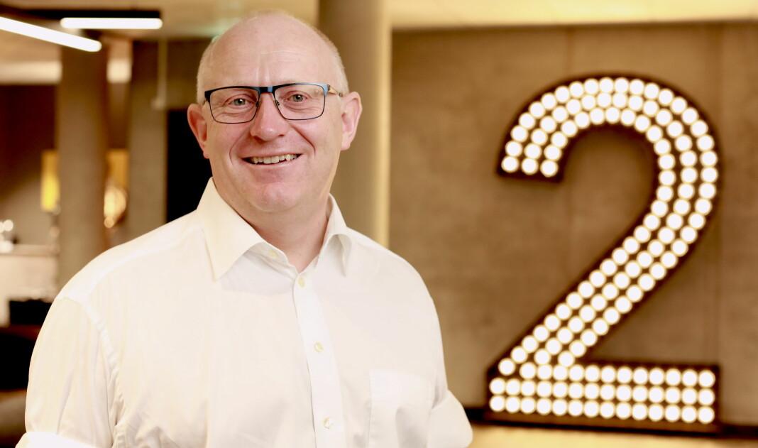 TV 2 Sumo-sjef Christian Birkeland har tro på smarthøyttalere. Foto: Erik Edland