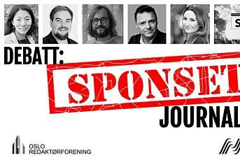 DIREKTE: Bør vi kunne sponse aktualitets-journalistikk?