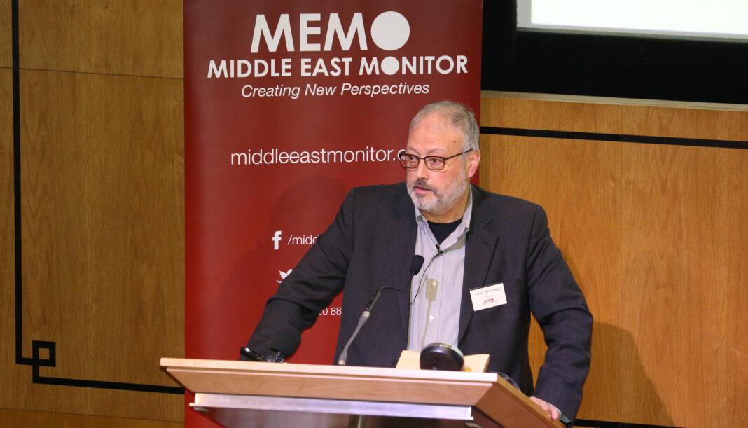 Jamal Khashoggi skal ikke ha blitt sett etter at han gikk inn i konsulatbygningen tirsdag 2. oktober. Foto: Reuters / Scanpix