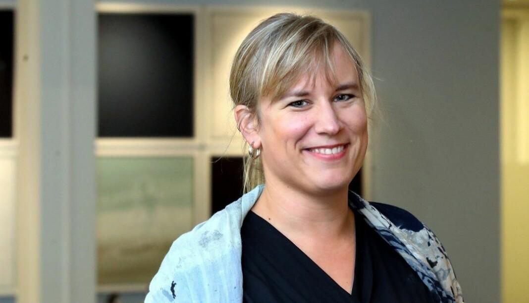 Karianne Steinsland går fra Aftenposten til Budstikka, hvor hun blir nyhetsredaktør. Foto: Karl Braanaas/Budstikka