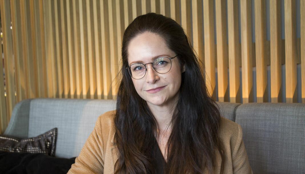 Janne Johannessen, redaktør for nyhet og dagsorden i Dagens Næringsliv. Foto: Caroline M. Svendsen
