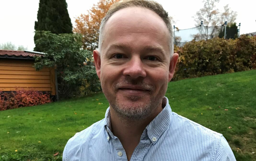 Etter ti år i TV 2 - de siste tre som leder for den «Gullruten»-vinnende seersuksessen «Åsted Norge», blir Bjørn Carlsen (41) redaksjonssjef i Dagbladet TV.  Foto: Ane Rostad Stokholm