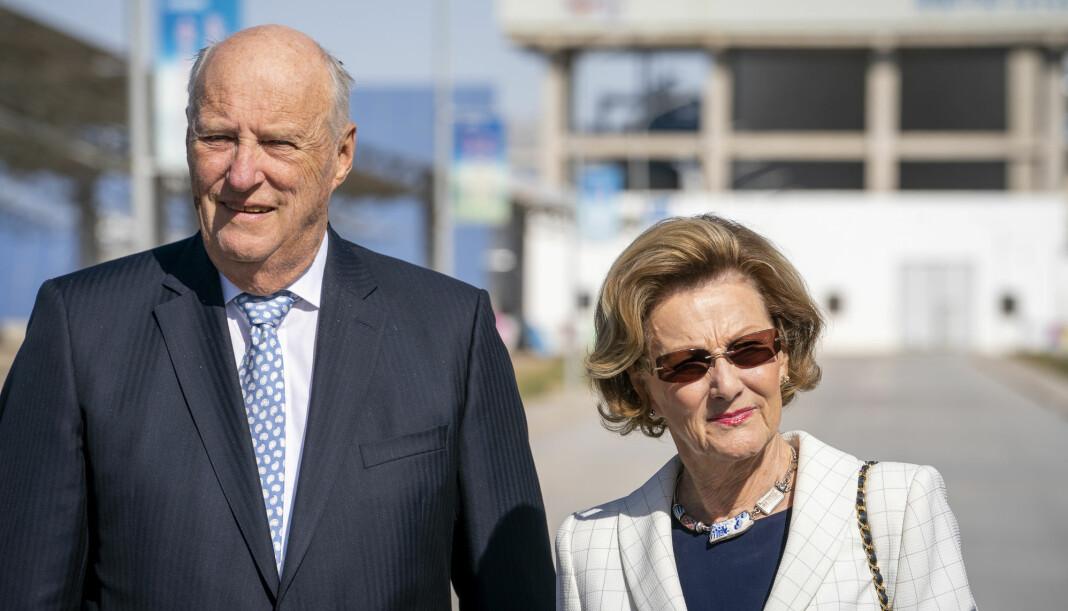 Kong Harald og dronning Sonja er på et ni dager langt statsbesøk i Kina. Foto: Heiko Junge / NTB scanpix