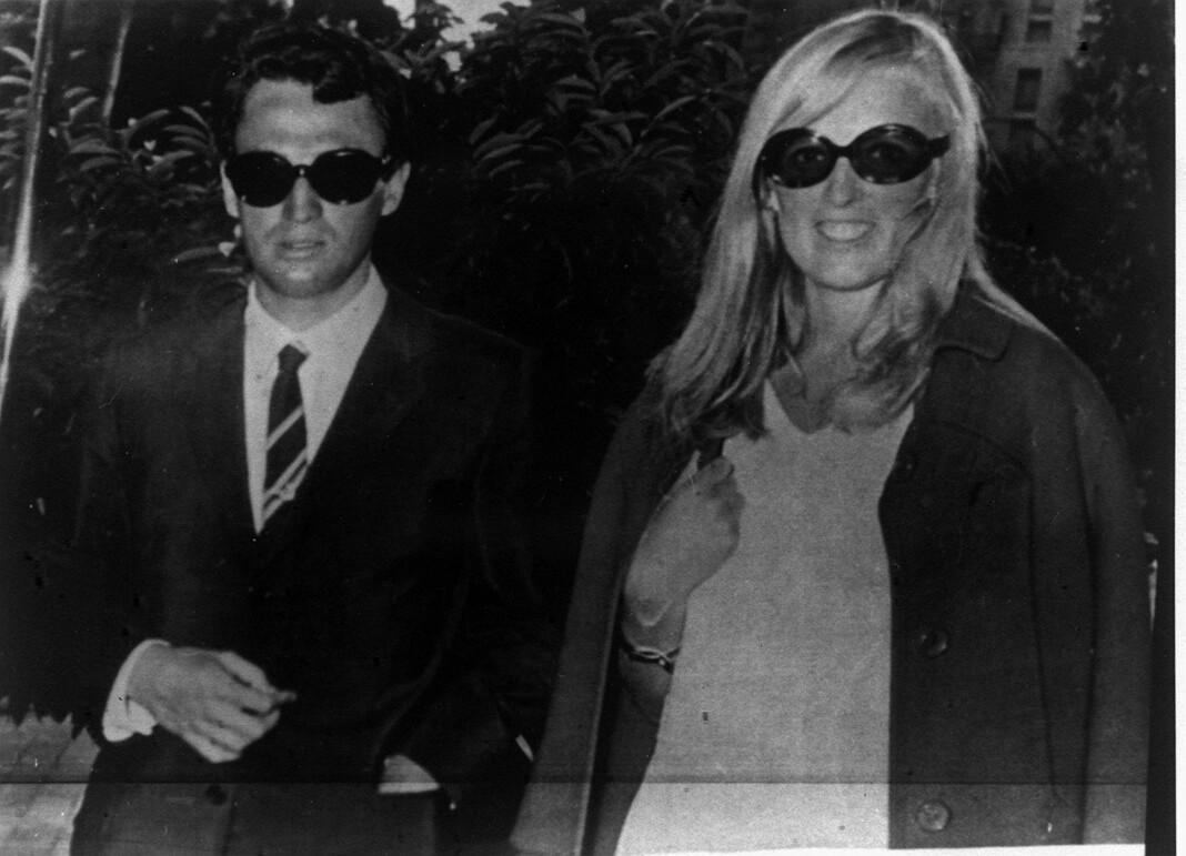 Enrique and Anni Nielsen Iranzo fotografert før sistnevnte ble drept i sitt hjem i Holmenkollen i 1974. Foto: NTB scanpix