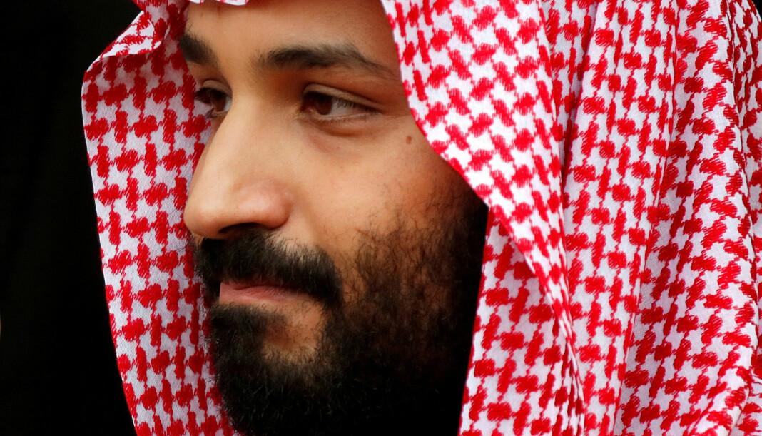 Saudi-Arabias mektige kronprins Mohammed bin Salman. Foto: Reuters / NTB scanpix