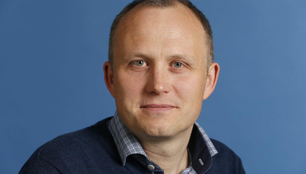 Rune Møklebust. Foto: Ole Kaland/NRK