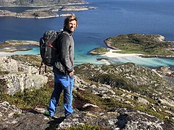 Trygve Sunde Kolderup, redaktør i Fjell og Vidde.