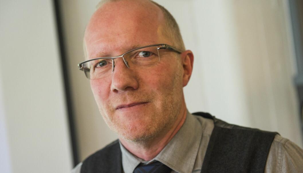 Arne Jensen og Redaktørforeningen er bekymret for omlegging av Posten. Foto: Fredrik Varfjell / NTB scanpix