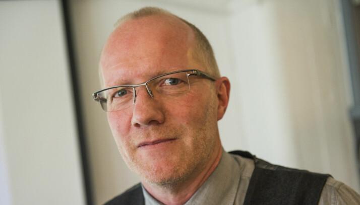Arne Jensen i Redaktørforeningen mener opptil sju år er å vente på ny teknologi er for lenge å vente. Foto: Fredrik Varfjell / NTB scanpix