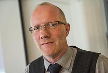 Arne Jensen i redaktørforeningen. Foto: Fredrik Varfjell / NTB scanpix