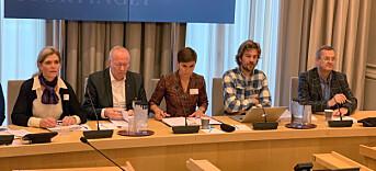 LES OGSÅ: Presseorganisasjonene advarer om at aksjonær-registeret er i fare