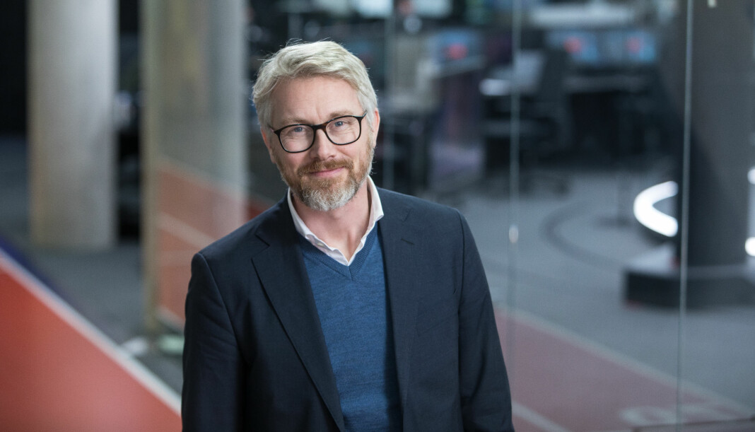 TV 2-sjef Olav T. Sandes er fornøyd med utviklingen i strømmekanalen Sumo. Foto: Eivind Senneset / TV 2